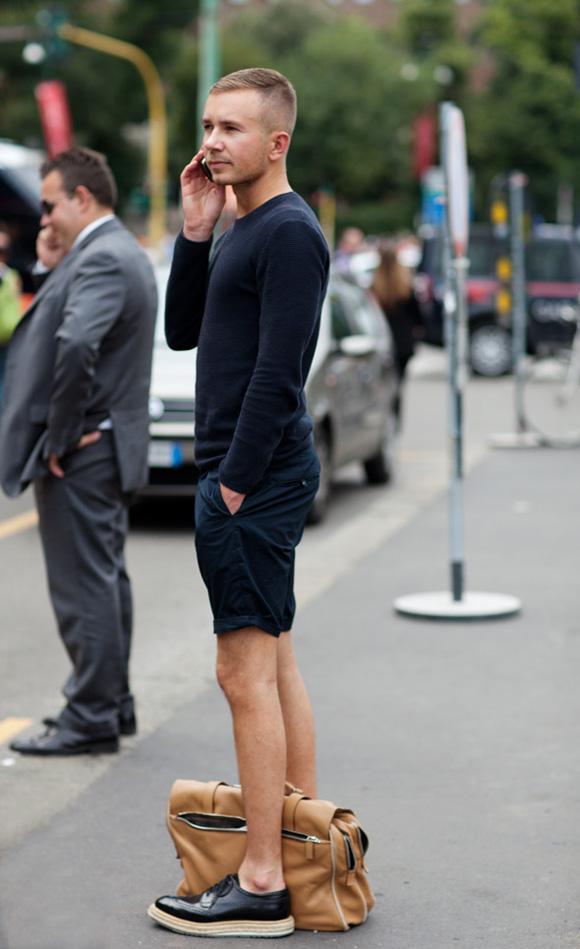 Slim Navy Shorts Rebuilding Wardrobe 101: The 18 Timeless Basics Part 2