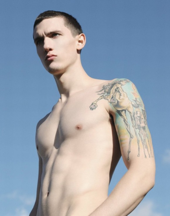 Tyler Riggs Bicep Tattoo Style Inspiration: Bicep Tattoos For Men