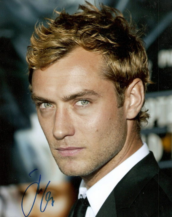 Jude Law Wavy Curly Blonde Men Curly Hair
