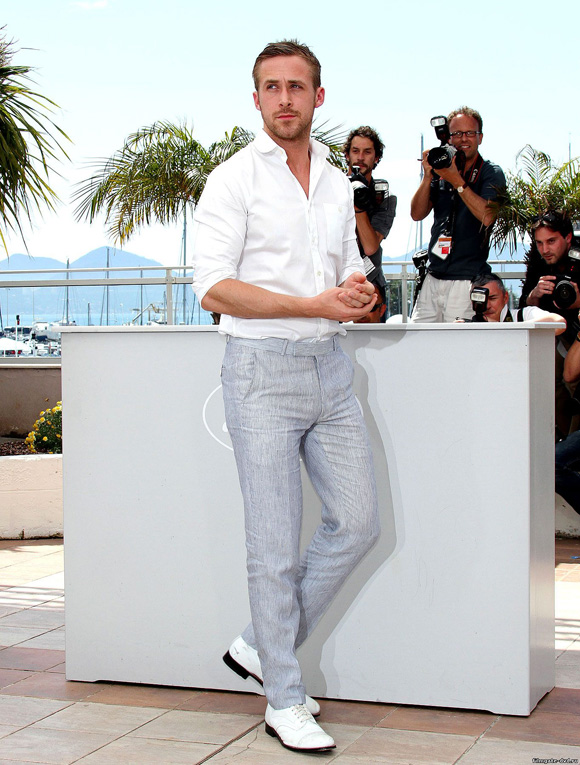 Ryan Gosling Cannes Casual Look Style Profile: Ryan Gosling