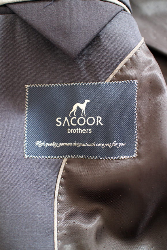6 Sacoor Brothers Malaysia: The Suit