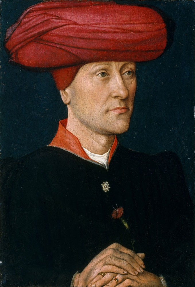 Portrait Of A Man In A Turban 15th Century A Visual History: 600 Years Of Menswear
