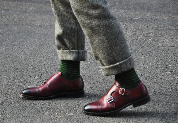 Double Monk Strap Shoes Milan Pitti Uomo Very Classy: Monk Strap