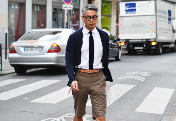 Takahiro Kinoshita Style Popeye Editor How To Wear Shorts The Chic Way