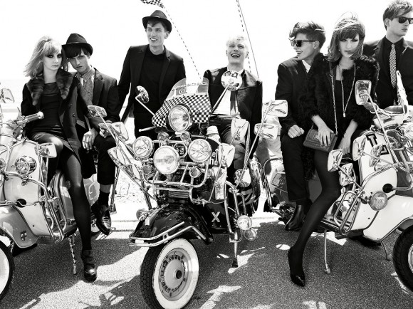 Phil Poynter Mods Vogue Italia 1 Style Inspiration: The Mod Culture & Fashion
