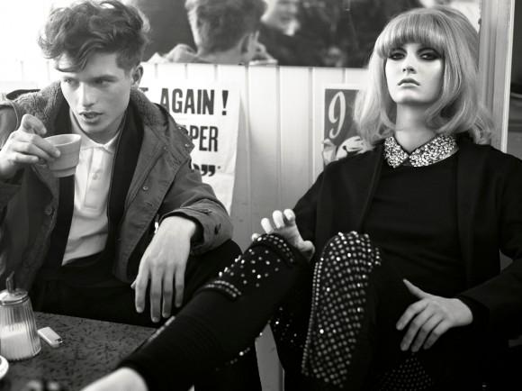 Phil Poynter Mods Vogue Italia 3 Style Inspiration: The Mod Culture & Fashion