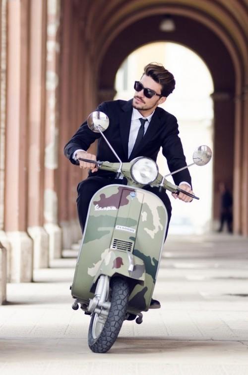 Modern Style Mod Vespa Style Inspiration: The Mod Culture & Fashion