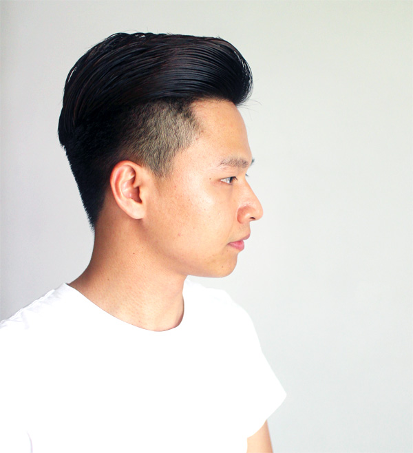 Galerry undercut hairstyle how to style
