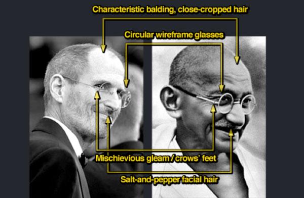 Steve Jobs Gandhi Style Inspiration: Translucent Frames, Clear Frames