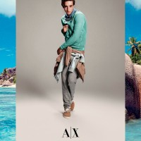 Armani Exchange Ss15 Campaign Fy3