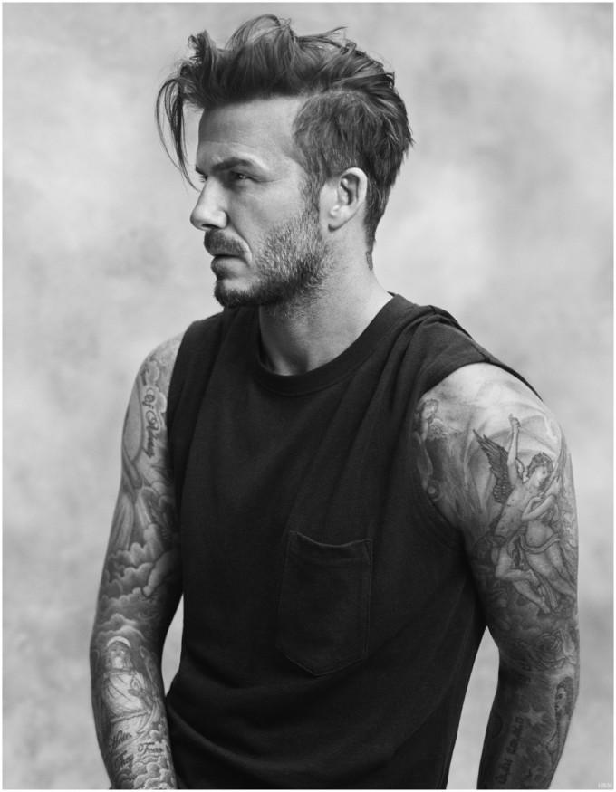 David Beckham Textured Undercut Undercut Hairstyle: 45 Stylish Looks