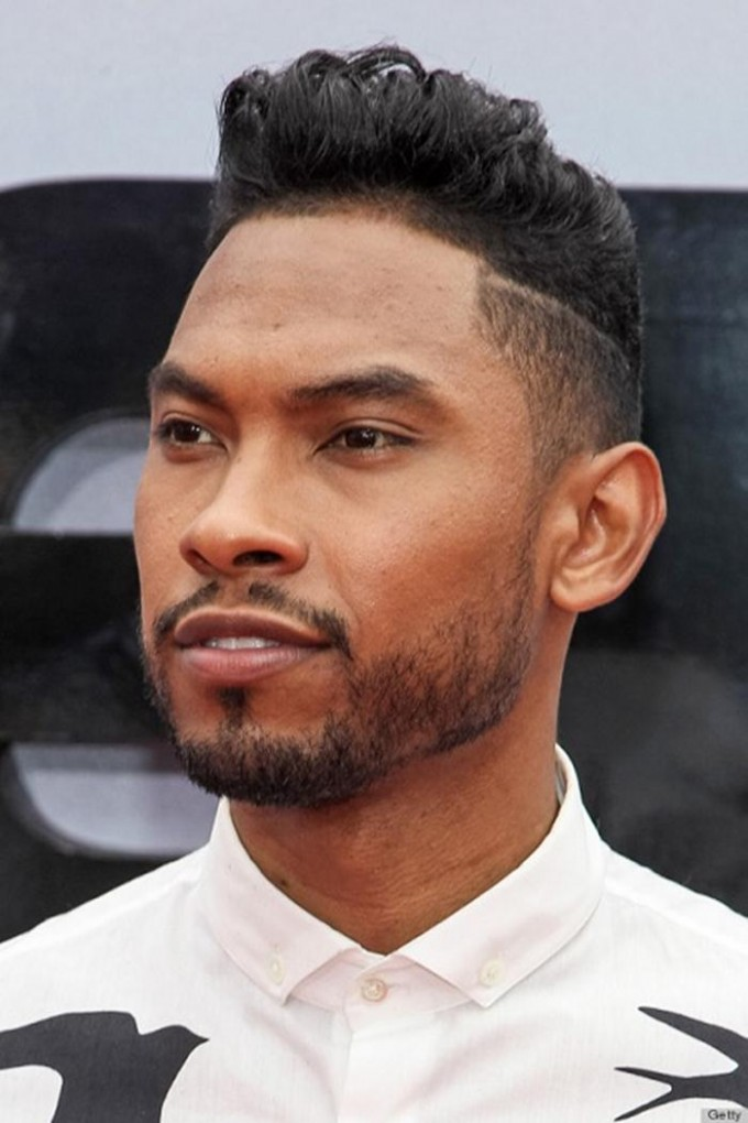Miguel's spotting undercut. (Inspiration for African American)