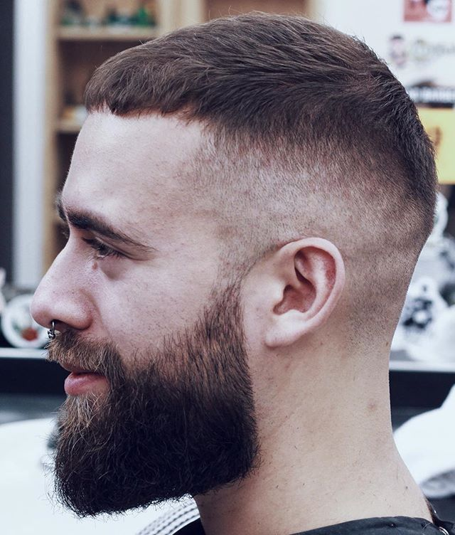 12 High Fade With Caesar Cut Top The Fade Hairstyle: 24 Best Looks & Styles