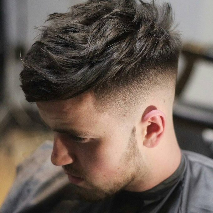 15 Regular Fade With Textured Medium Top The Fade Hairstyle: 24 Best Looks & Styles