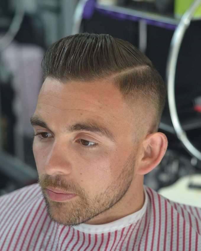 3 High Fade With Classic Pomp The Fade Hairstyle: 24 Best Looks & Styles