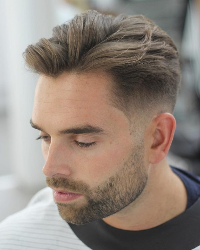 Very Classy The Fade Hairstyles Grooming Max Mayo
