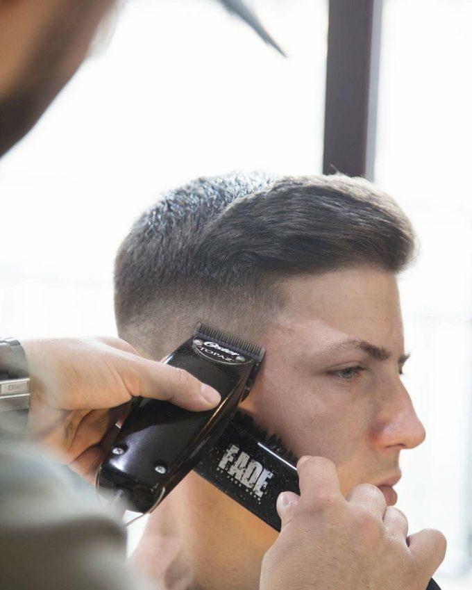 Barber Making Fade