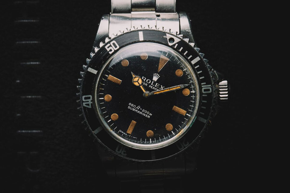 Rolex Submariner 5513 From Live And Let Die Looking Back At The James Bond Watches Worn By Sir Roger Moore