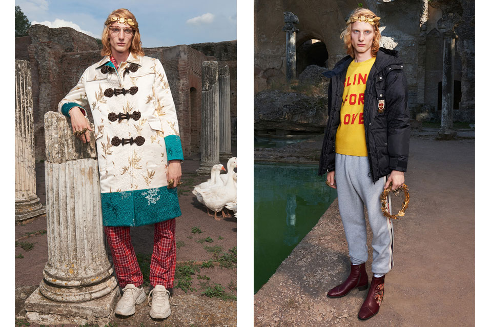 Gucci Cruise 2018 2 Gucci Launches Roman Inspired Cruise 2018 Campaign