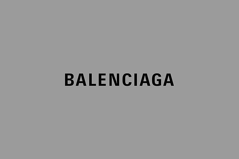 Balenciaga New Logo Balenciaga Unveils A Brand New Logo