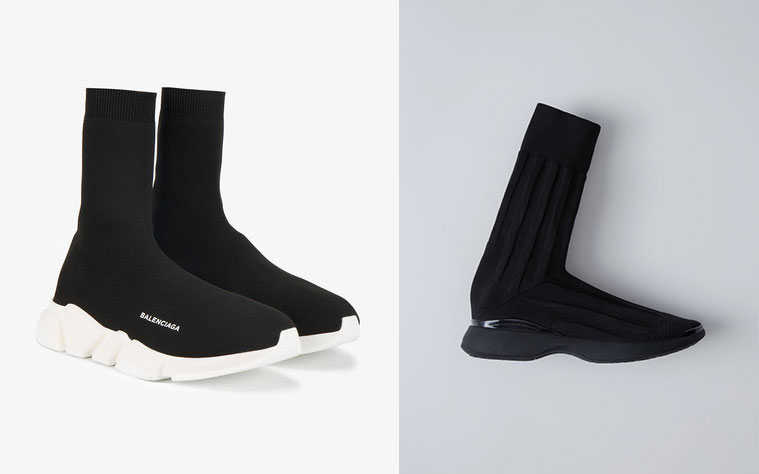 Balenciaga Speed Trainers Vs Acne Studio Compare Acne Studios Sock Sneakers