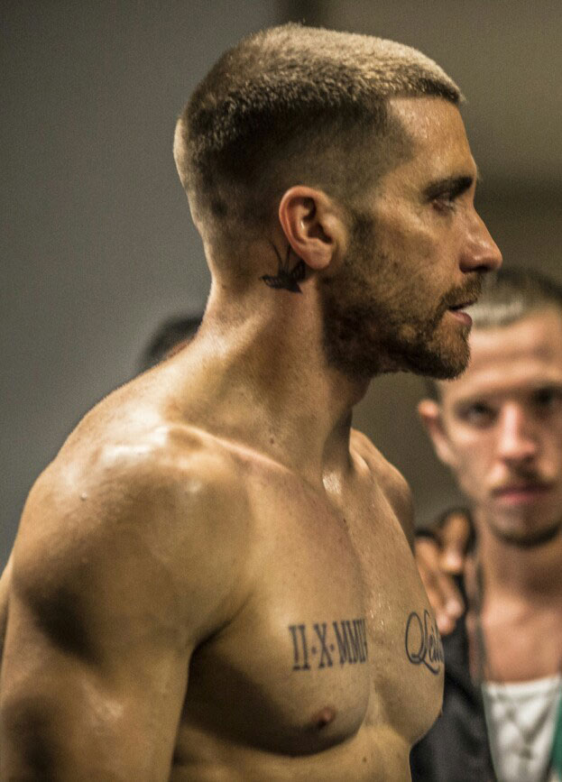 Actor Jake Gallagher Butch Cut in the movie Southpaw