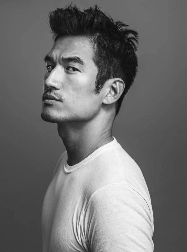 Model Tony Chung in Ivy League Hairstyle