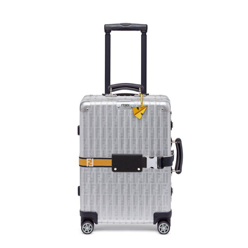 Fendi Rimowa Luggage Yellow Details 04 FENDI X RIMOWA: The New Red & Blue Edition