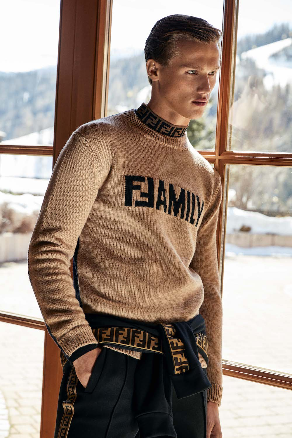16 Leisurewear Fall Winter 2018 Fall Winter 2018: FENDI Leisurewear Collection