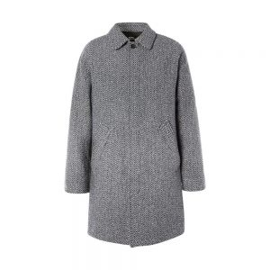 Ivan Herringbone Wool Blend Coat 04 A.P.C. Ivan Herringbone Wool Blend Coat
