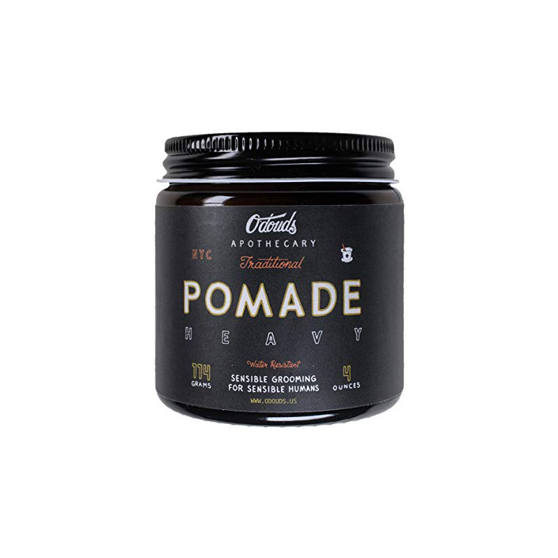 Odouds Traditional Pomade Heavy Top 9 Super Strong Hold Oil Based Pomades
