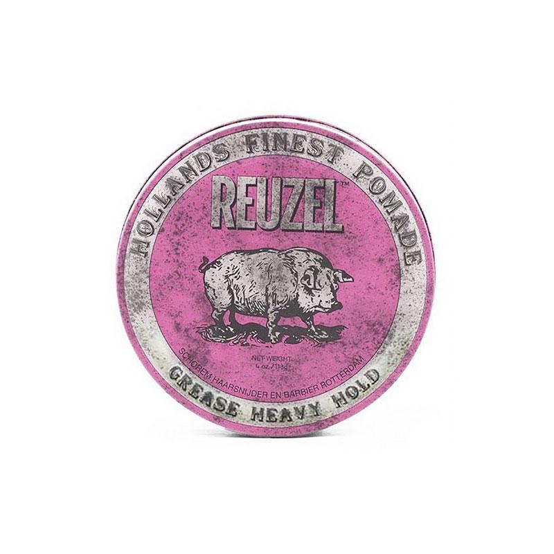 Reuzel Pink Heavy Hold Pomade Top 9 Super Strong Hold Oil Based Pomades