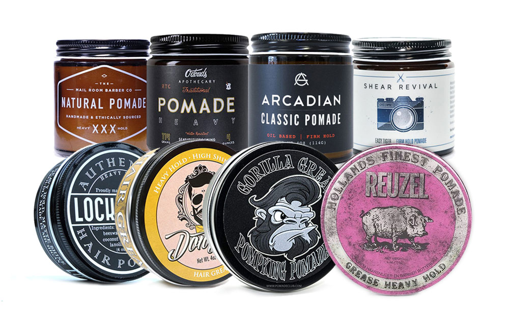 Top Super Strong Hold Oil Based Pomades Home