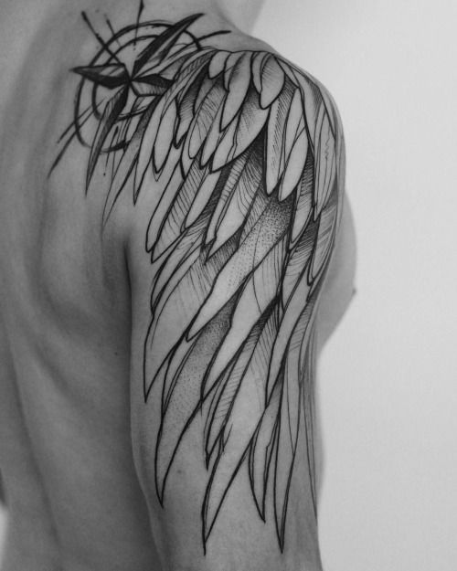 Shoulder Tattoo Ideas Angel Wings 64 Best Shoulder Tattoos Ideas