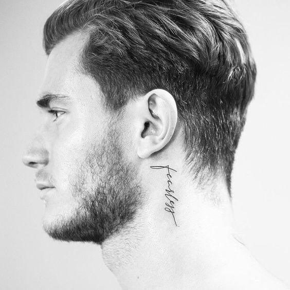 Neck Tattoo Idea Fearless 19 Classy Neck Tattoo Ideas & 46 Examples