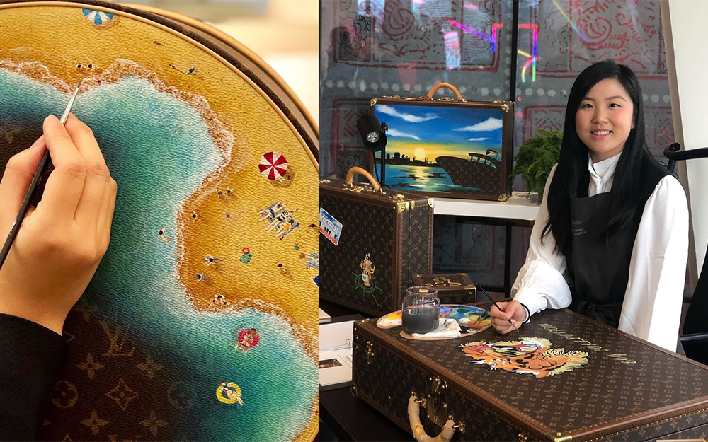 Angel Kwok Louis Vuitton Painter Custom Hand Painting For Your Luxury Bags: 4 Artists To Know