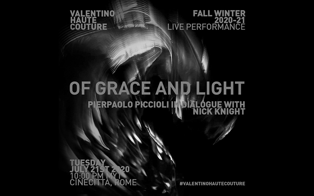 Valentino Haute Couture Fw20 21 Live Performance Of Grace And Light Home